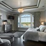 Interior, horizontal, master bedroom, Hill residence, Chuluota, Florida; Reid Smith Architects; Tate Interiors; Zoltan Construction